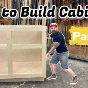 Build Cabinets The Easy Way | How to Build Cabinets