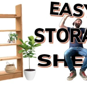 Garage Storage Shelf | Easy Storage Shelf