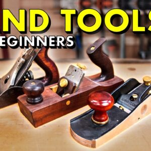 My Top 10 MUST HAVE Woodworking Hand Tools For Beginners 🛠 Gift Guide