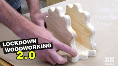 Making another viewer project.  And Christmas movies! | Lockdown Woodworking 2.0