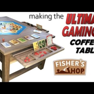 Woodworking: Making the Ultimate Gaming Coffee Table